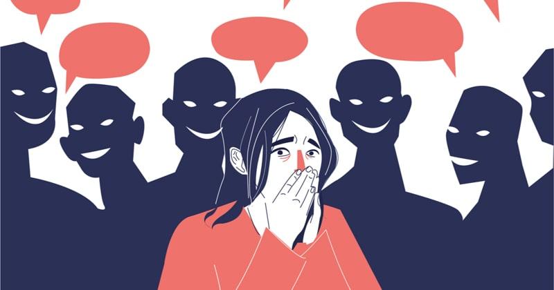 غلبه بر کمرویی و اضطراب اجتماعی و خجالت کشیدن