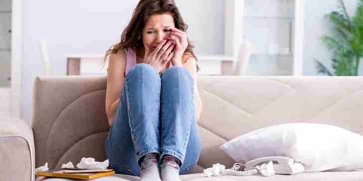 افسردگی بعد از شکست عشقی