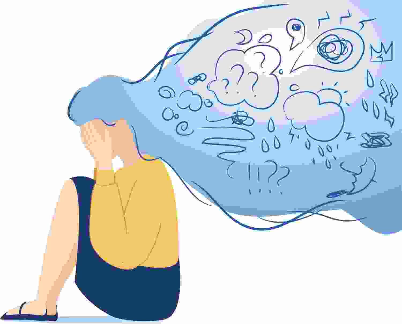 رابطه اضطراب و ناخوشی و بی قراری
